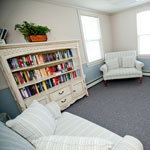 Westport Village Apartments library/study