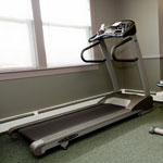 Cardio equipment in the Community Room