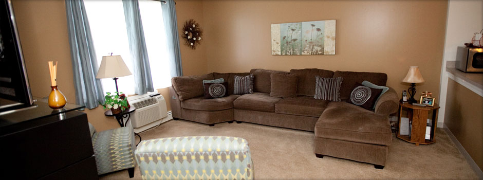 Westport model livingroom