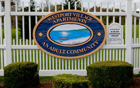 Westport Village Entrance